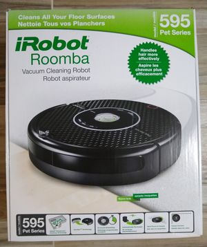 New iRobot Roomba 595 Pet Series Vacuum Sealed for Sale in Holbrook, NY