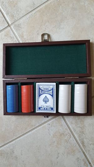 POKER CHIP SET for Sale in Escondido, CA
