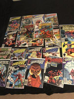 Huge daredevil comic book lot !!! for Sale in Round Lake, IL