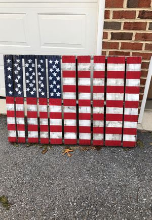 Palate American Flag for Sale in Mountville, PA