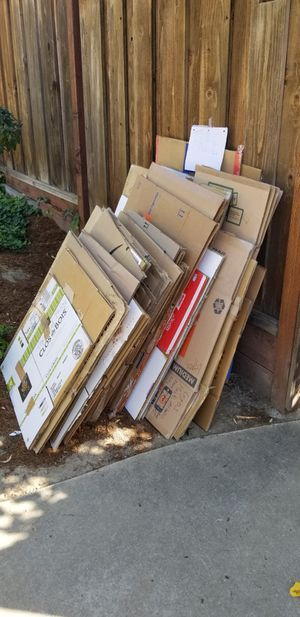 Moving boxes Free for Sale in Fremont, CA