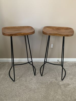 Wood & Metal Bar Stools for Sale in Rochester Hills, MI