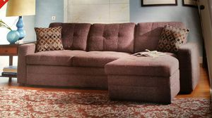 CONVERTIBLE Sectional Sofa Couch Bed with Storage for Sale in Denver, CO