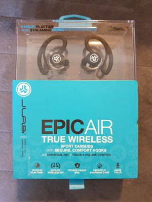 JLab Audio Epic Air True Wireless Earbuds Headphones for Sale in Palos Hills, IL