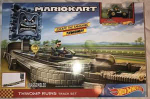 Mario Kart Hot Wheels Thwomp Ruins Track Set for Sale in Newton, KS