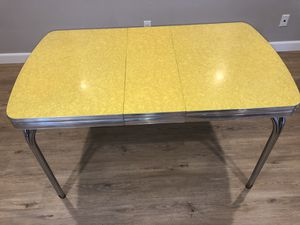 Retro Vintage Kitchen Table: Original 50's style with chairs for Sale in Encinitas, CA
