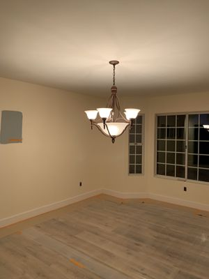 Chandelier brown/bronze color for Sale in Mission Viejo, CA