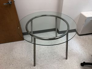 IKEA glass kitchen table for Sale in Chevy Chase, MD