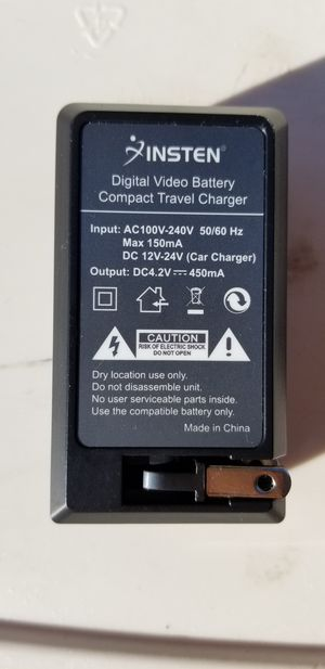 Battery Charger for camera batteries for Sale in Fort Myers, FL