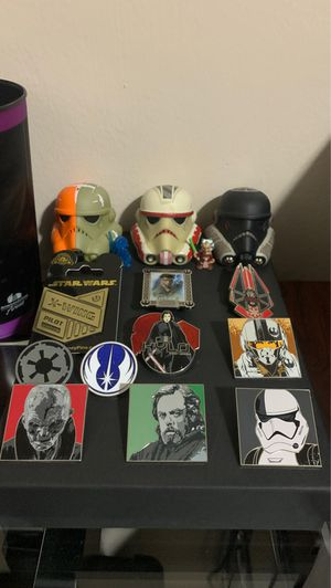Star Wars Pins and Collectibles Lot for Sale in Hollywood, FL