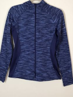 Blue Columbia Zip Up And Hoodie Jacket Size S Gently used for Sale in French Creek,  WV