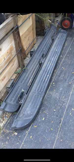 Ford truck 2001 side steps running boards for Sale in Highland, CA