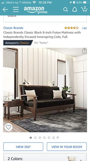Full size futon mattress for Sale in Franklin Township, NJ
