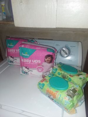 Girls Pampers Easy Ups 2T-3T (25 CT.) for Sale in Norcross, GA