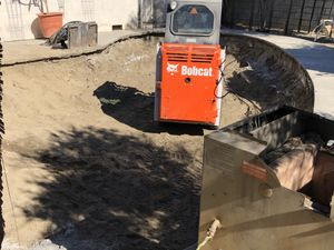 Bobcat peterbilt demolition dump truck haul for Sale in Pomona, CA