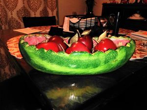 $10dlls.fruit salad dish for Sale in San Diego, CA