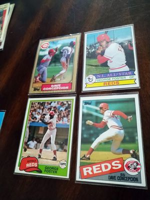 Cincinnati Reds Legends Baseball cards Lot for Sale in Tampa, FL
