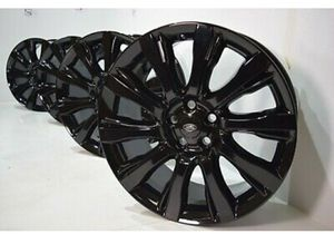 """21"""" Range Rover Land Supercharged BLACK FACTORY OEM WHEELS RIMS for Sale in Long Beach, CA"""
