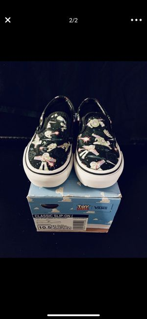 Toy story kid shoes Vans for Sale in Grand Prairie, TX