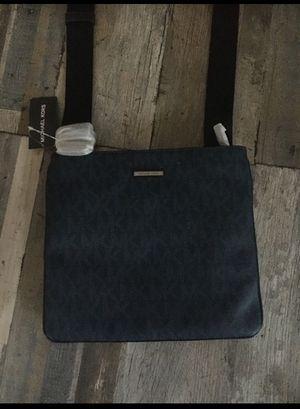 Blue Micheal Kors Man Purse/ messenger bag for Sale in Rosemead, CA