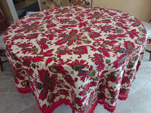 Tablecloth For 48-inch Round Table or Larger for Sale in Oakland Park, FL