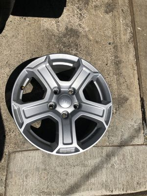 "Jeep Wrangler stock wheels 2019 17"" for Sale in West Sacramento, CA"