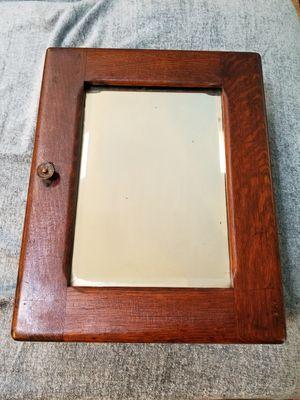 Antique Wood Medicine Cabinet for Sale in Safety Harbor, FL