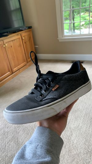 Black vans; size 10; never worn for Sale in North Andover, MA