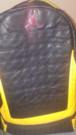 Jordan 13s rubber bottom backpack for Sale in Oakland, CA