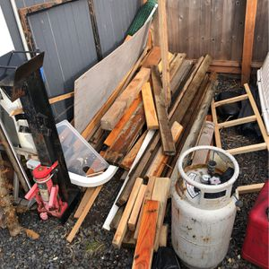 FREE WOOD MUST TAKE ALL for Sale in Beaverton, OR