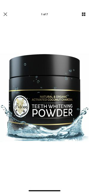 Purean Natural Teeth Whitening Charcoal Powder for Sale in Middleburg Heights, OH