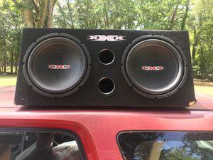 Dual 12 speakers and 1200 watt amp for Sale in Pooler, GA
