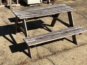 Kids picnic table for Sale in Alexandria, VA