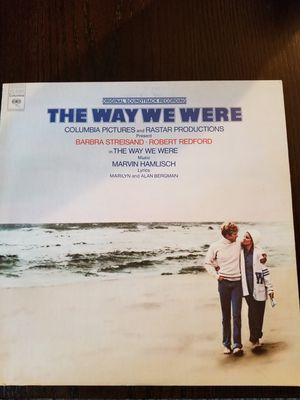 The Way We Were Orginal Soundtrack Vinyl LP Album Barbra Streisand for Sale in Willowbrook, IL