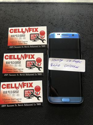 Samsung galaxy s7 edge blue unlocked t-mobile metro PCs cricket AT&T's for Sale in Los Angeles, CA