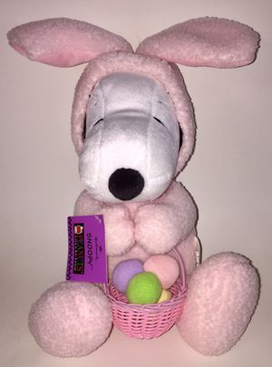 "Snoopy Peanuts Collection 16"" Easter Bunny Costume Plush for Sale in Tempe, AZ"