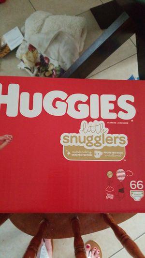 Huggies little snugglers size 4 w wipes for Sale in Stuart, FL