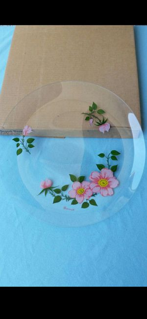 Desert Rose Plate for Sale in Grover Beach, CA