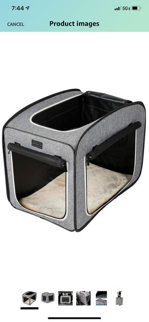 Pop up soft dog crate for Sale in Orlando, FL