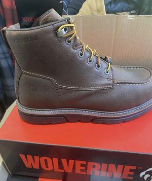 Wolverine Safety Toe Work Boot/Botas de trabajo Wolverine con casquillo for Sale in Highland, CA