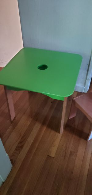 Kids play table with chair for Sale in Malden, MA
