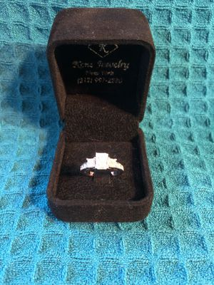 14k White Gold Diamond Engagement Ring for Sale in Portland, CT
