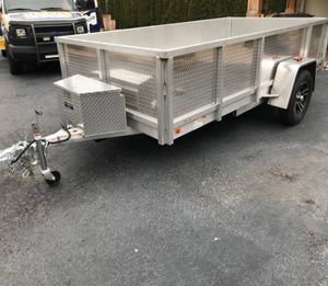 Very Clean Aluminum Trailer For Sale$800 for Sale in Wichita, KS