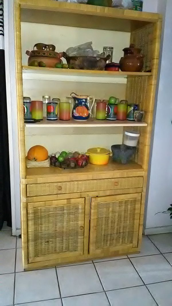 Beautiful Kitchen cabinet Dishes not included OBO