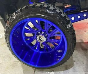 PACKAGE OF RIMS FOR TRUCK...BEST PRICE IN RIMS ....FINANCE AVAILABLE for Sale in Miami,  FL