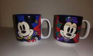 Disney Store Mickey & Minnie Mouse Christmas Mugs for Sale in Atlanta, GA