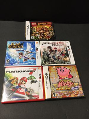 NINTENDO 3DS, DS GAME LOT for Sale in Garden Grove, CA