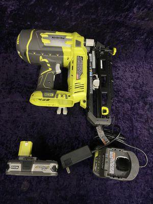 💥🧰🛠Ryobi 18V 16GA nail gun! $140 this weekend💥🧰🛠 for Sale in Irving, TX