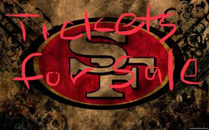 49er game tickets for Sale in San Pablo, CA
