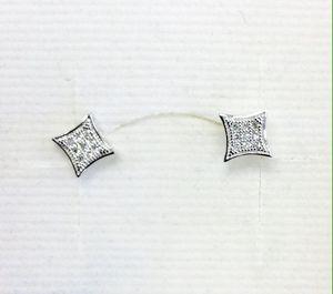 Diamonds Earrings 14 Kt White Gold for Sale in Denver, CO